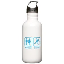 Problem Solved Surfing Sports Water Bottle