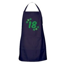 18th Irish Birthday Apron (dark)
