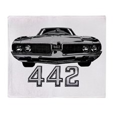 OLDS 442 Throw Blanket