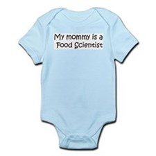 Mommy is a Food Scientist Infant Creeper