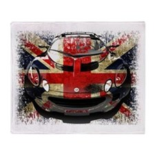 British Elise Throw Blanket