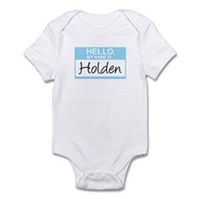 Hello, My Name is Holden - Infant Bodysuit