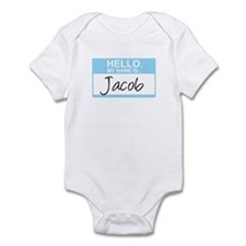 Hello, My Name is Jacob - Infant Bodysuit