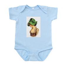 Green Bonnet Infant Bodysuit
