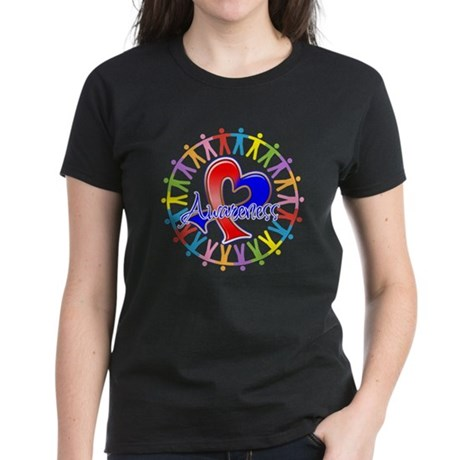Pulmonary Fibrosis Unite Women's Dark T-Shirt