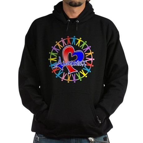 Pulmonary Fibrosis Unite Hoodie (dark)