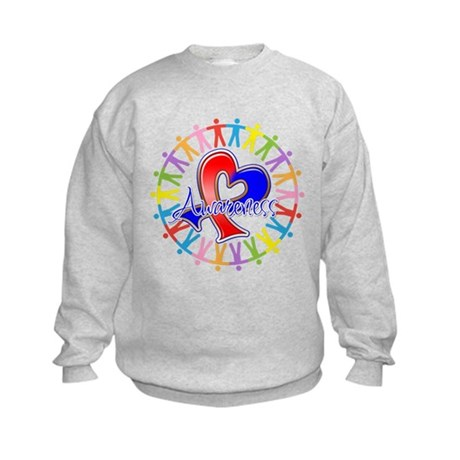 Pulmonary Fibrosis Unite Kids Sweatshirt