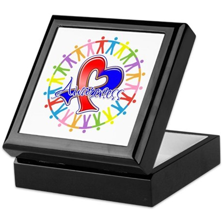 Pulmonary Fibrosis Unite Keepsake Box