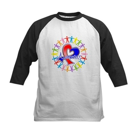 Pulmonary Fibrosis Unite Kids Baseball Jersey