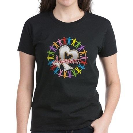 Retinoblastoma Unite Women's Dark T-Shirt