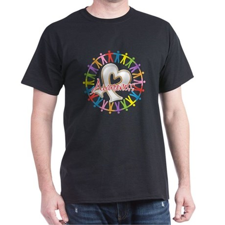 Retinoblastoma Unite Dark T-Shirt