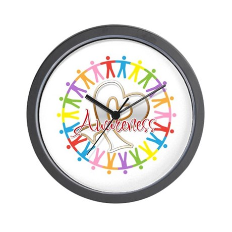 Retinoblastoma Unite Wall Clock