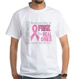 Cute The real ones tried to kill me Shirt
