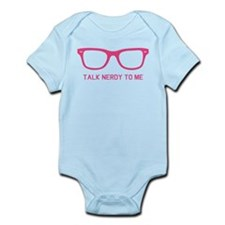 Talk nerdy to me Infant Bodysuit