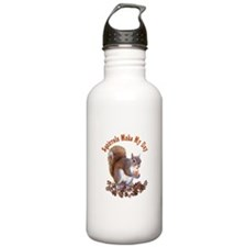 Squirrel Day Water Bottle