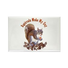 Squirrel Day Rectangle Magnet