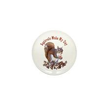 Squirrel Day Mini Button (100 pack)