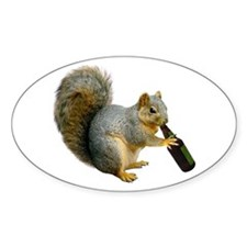 Squirrel Beer Decal