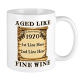 Fine Wine 1970 Small Mug