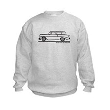 1956 Chevrolet Bel Air Nomad Sweatshirt