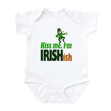 Kiss Me I'm Irish-ish Infant Bodysuit