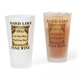 Fine Wine 1955 Drinking Glass