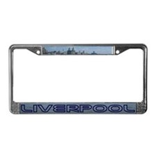 Scenic Liverpool License Plate Frame 2