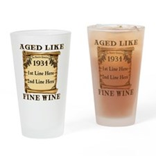 Fine Wine 1934 Drinking Glass