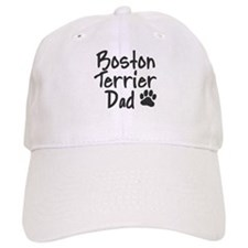 Boston Terrier DAD Baseball Cap