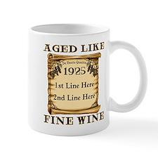 Fine Wine 1925 Small Mug