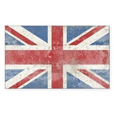 Vintage Union Jack Decal