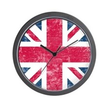 Vintage Union Jack Wall Clock