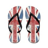 Vintage Union Jack Flip Flops
