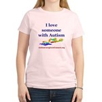 I love someone with Autism Women's Light T-Shirt