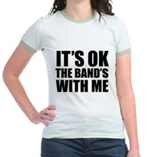 The band's with me T
