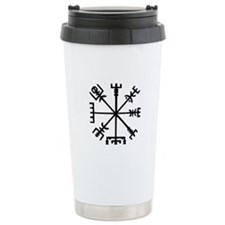 Viking Compass : Vegvisir Ceramic Travel Mug