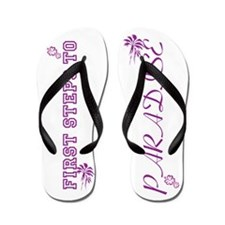 First Steps to Paradise Flip Flops