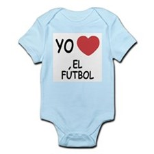 Yo amo el futbol Infant Bodysuit