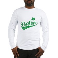 Boston Green Long Sleeve T-Shirt