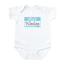 Hello, My Name is Wesley - Onesie