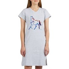 Horse of Many Colors Women's Nightshirt