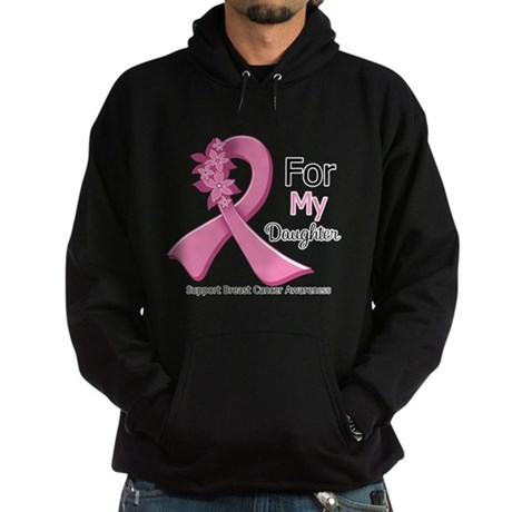 Daughter Breast Cancer Hoodie (dark)