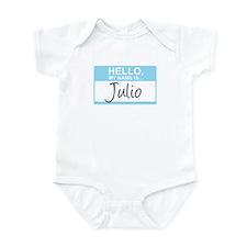 Hello, My Name is Julio - Infant Bodysuit