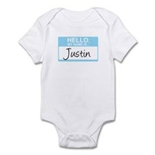 Hello, My Name is Justin - Infant Bodysuit