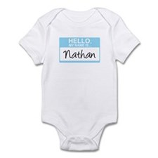 Hello, My Name is Nathan - Infant Bodysuit