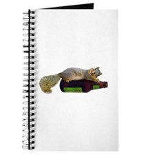 Squirrel Empty Bottle Journal