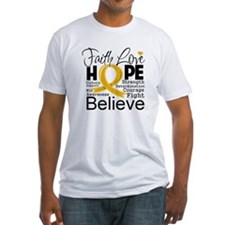 Faith Hope Appendix Cancer Shirt