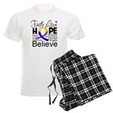 Faith Hope Bladder Cancer Pajamas