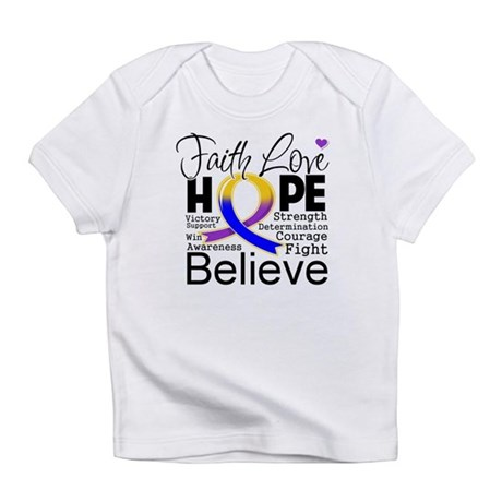 Faith Hope Bladder Cancer Infant T-Shirt