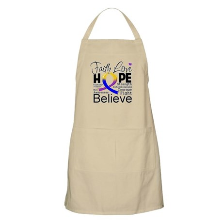 Faith Hope Bladder Cancer Apron